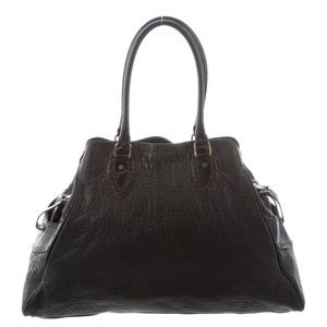 Fendi leather chef tote bag
